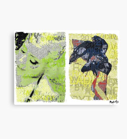 Incarnata Diptych #8 Canvas Print