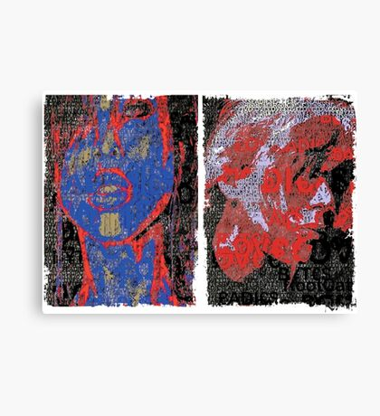 Incarnata Diptych #2 Canvas Print