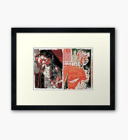 Incarnata Diptych #1 Framed Print