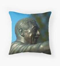 Over Looking The Park Throw Pillow