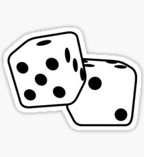 Dice Sticker