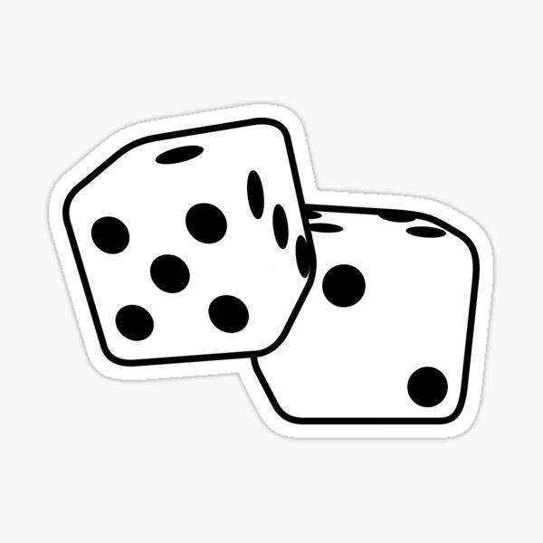 Roll The Dice Sticker