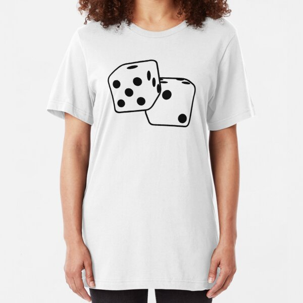 Roll The Dice Slim Fit T-Shirt
