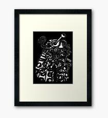 Dalek- Infected Framed Print