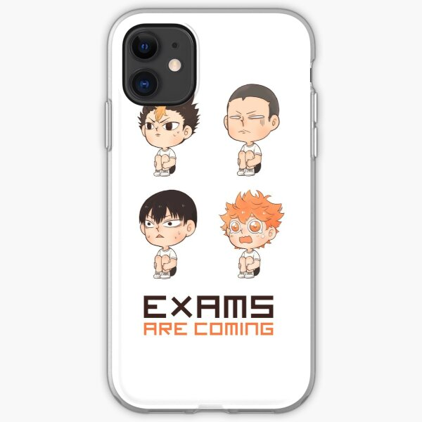 Exams are COMING iPhone Soft Case