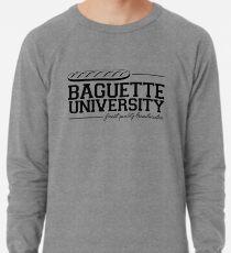 Baguette Universität Leichtes Sweatshirt