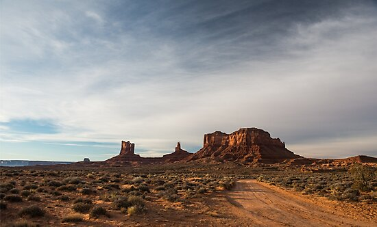 Stagecoach – Monument Valley, Utah by Jason Heritage