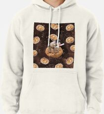 a69d11841 Graduate Elephant On Choc Cookie In Space Pullover Hoodie