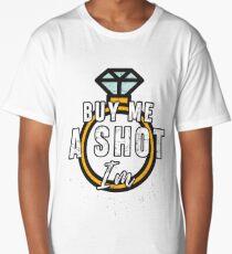 Bridal Shower Bachelorette Party Womens Wedding Shirts Buy Me A Shot Long T-Shirt