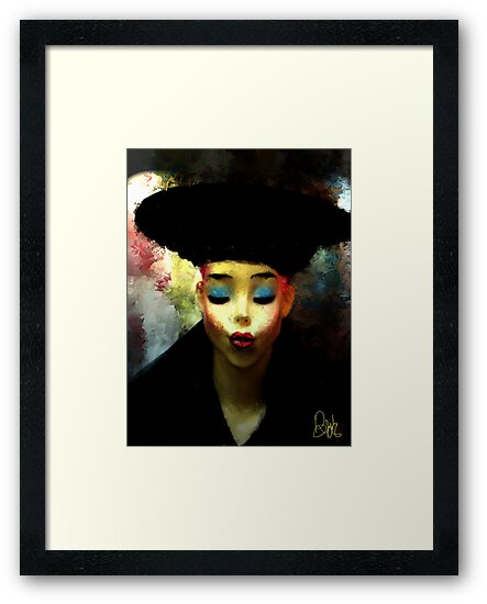 The Pout  by bev langby