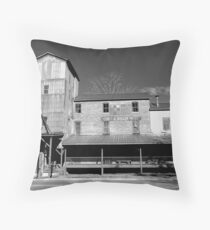 Central Roller Mill Throw Pillow