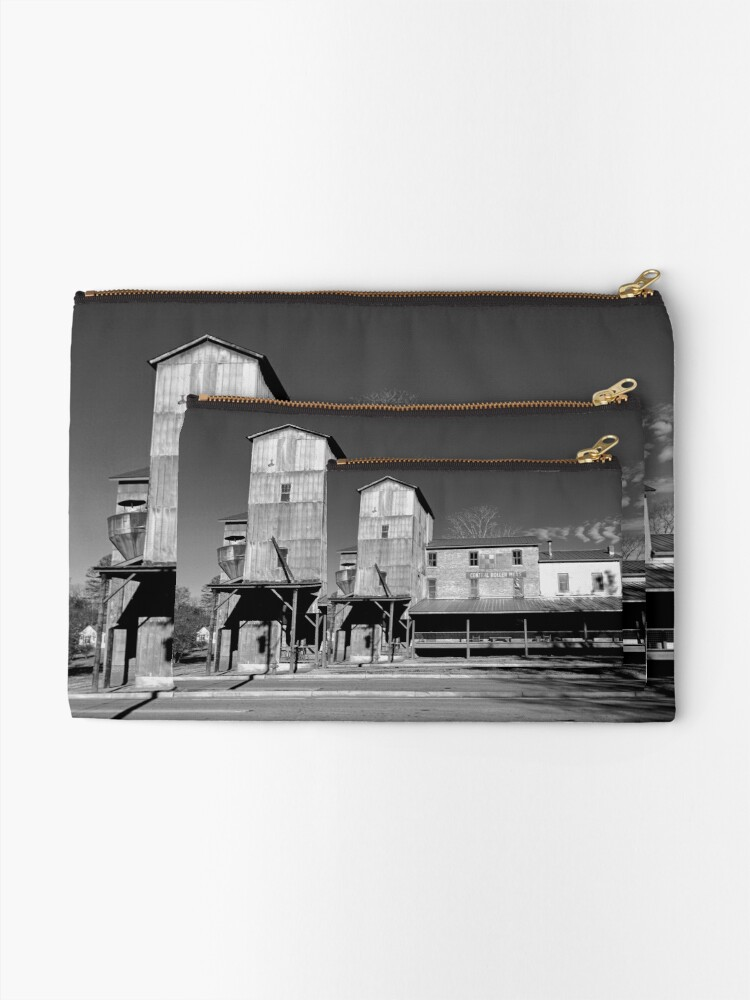 Alternate view of Central Roller Mill Zipper Pouch