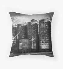 Central Roller Mill 3 Throw Pillow