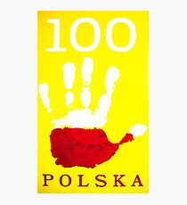100POLSKA Photographic Print