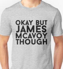 James McAvoy Unisex T-Shirt