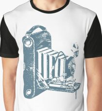 Vintage Foldable Camera Graphic T-Shirt