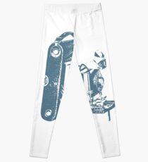 Vintage Foldable Camera Leggings