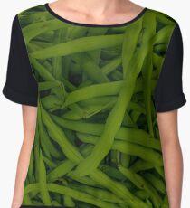 Green Beans Chiffon Top
