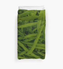 Green Beans Duvet Cover