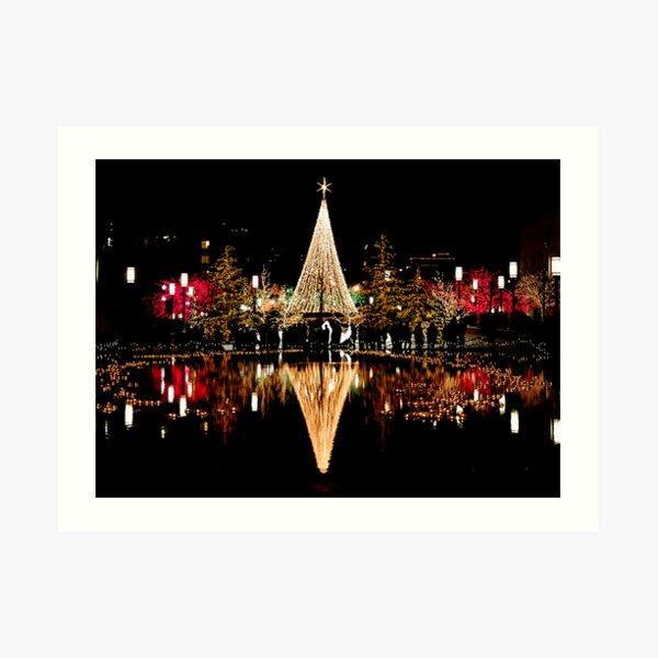Christmas Reflections  Art Print