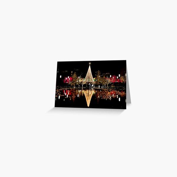 Christmas Reflections  Greeting Card