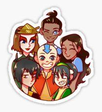 The Gaang Sticker