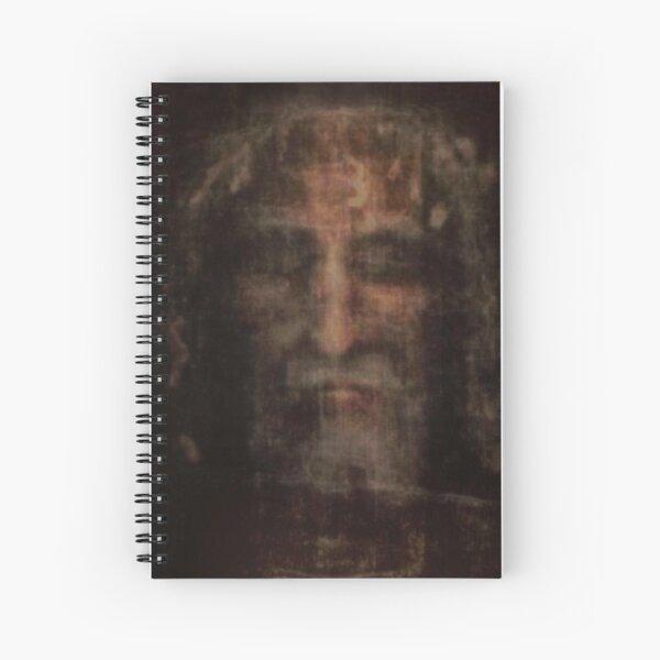 Face of Shroud Spiral Notebook