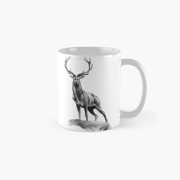All Muscle - Red Deer Stag Classic Mug