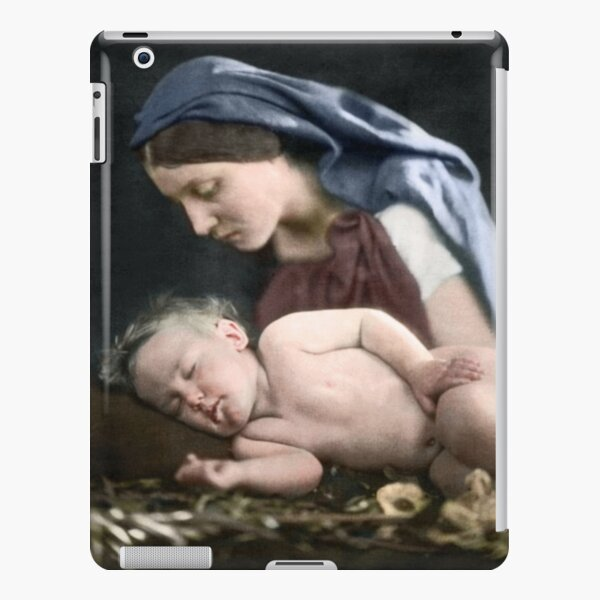 Mary and baby Jesus Christ iPad Snap Case