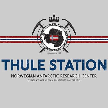 Thule Station T-Shirt (aged look) by KRDesign