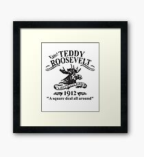 Teddy Roosevelt Bull Moose Party  Framed Print