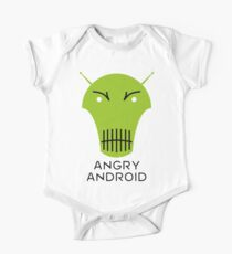 Angry Android One Piece - Short Sleeve