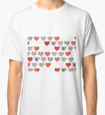 A Heart Pattern  Classic T-Shirt
