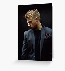 Jack Lowden Greeting Card