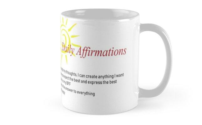 Affirmations by CrazyCraftLady