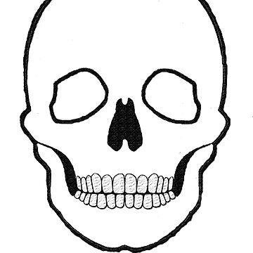 Skull black  by martinspixs