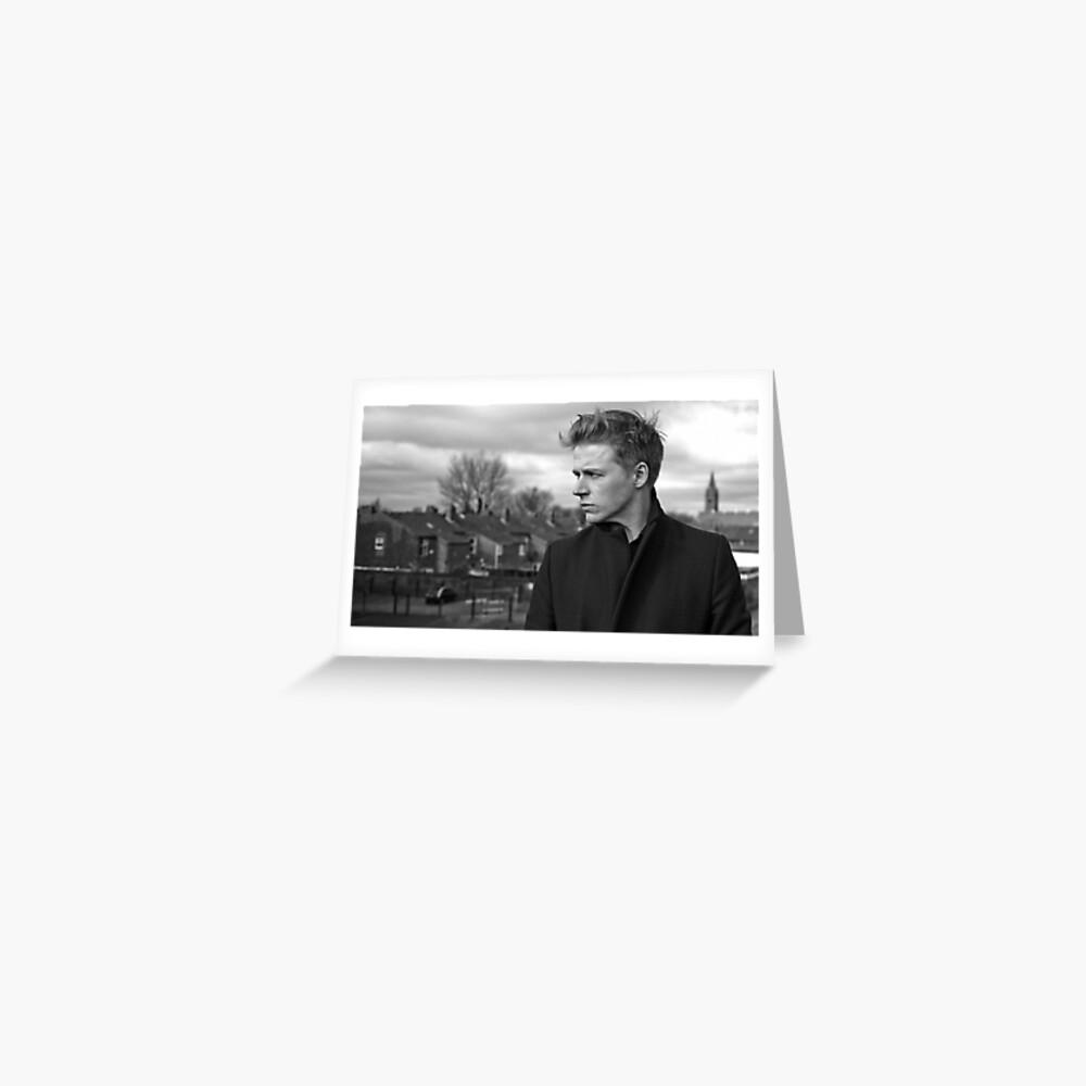 Jack Lowden Grußkarte