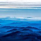 Window Seat: Ranges Blue by Kristoffer Glenn Pfalmer