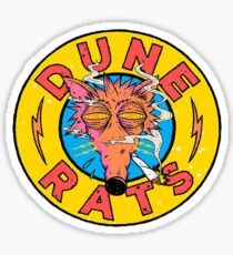 Dune rats Sticker