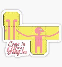 Come In for a Hug Sticker