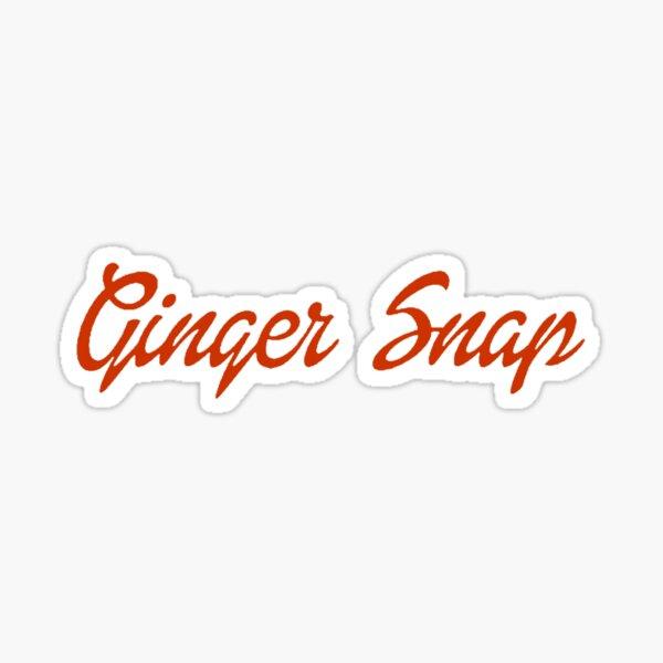 Ginger Snap Sticker