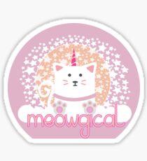 Meowgisch Sticker