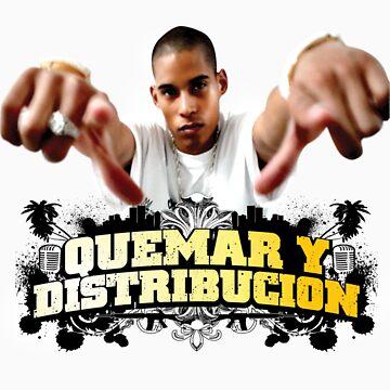 """Pencho Corleon """"Quemar Y Distribucion"""" (Burn & Distribute) by PenchoCorleon"""