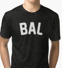 BAL (Baltimore) Tri-blend T-Shirt