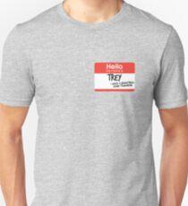 hi, my name is trey vine Unisex T-Shirt