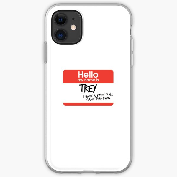 hi, my name is trey vine iPhone Soft Case