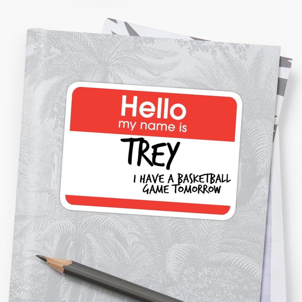 hi, my name is trey vine by electricgal
