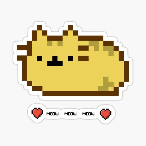 8 bit cat Sticker