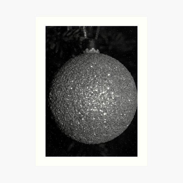 Silver ball Art Print