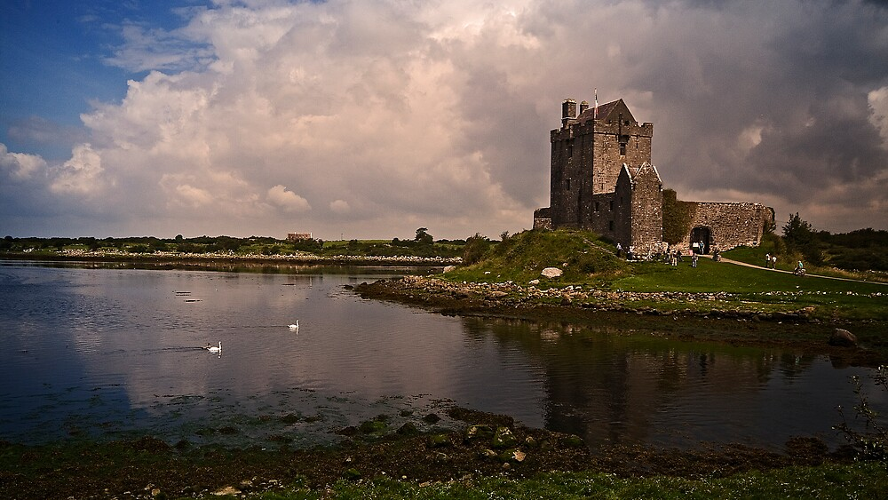 Dunguaire Castle.  by DaveBassett